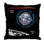 Munchhausen's Interstellar Throw Pillow