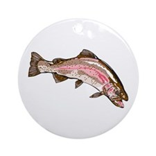 Rainbow Trout Ornament (Round)