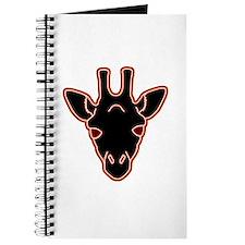 giraffe head 02 Journal