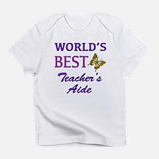 World's Best Teacher's Aide (Butterfly) Infant T-S