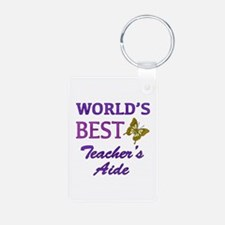 World's Best Teacher's Aide (Butterfly) Aluminum P