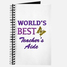 World's Best Teacher's Aide (Butterfly) Journal