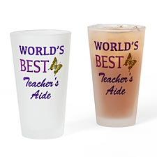 World's Best Teacher's Aide (Butterfly) Drinking G