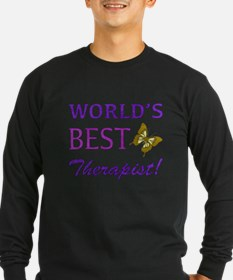World's Best Therapist (Butterfly) T