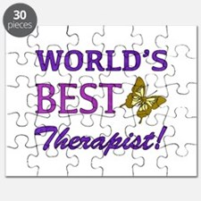 World's Best Therapist (Butterfly) Puzzle