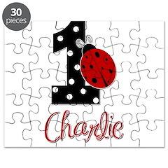 1 Ladybug CHARLIE - Custom Puzzle