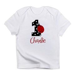 1 Ladybug CHARLIE - Custom Infant T-Shirt