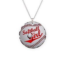 Softball Girl Necklace