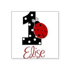 1 Ladybug ELISE - Custom Sticker