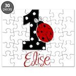 1 Ladybug ELISE - Custom Puzzle