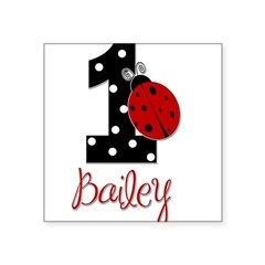 1 Ladybug BAILEY - Custom Sticker