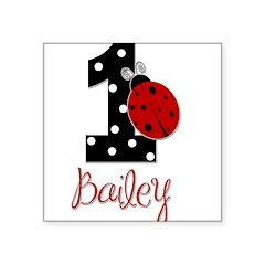 1 Ladybug BAILEY - Custom Sticker