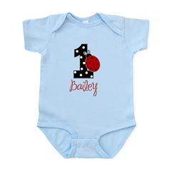 1 Ladybug BAILEY - Custom Body Suit