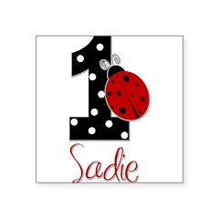 1 Ladybug SADIE - Custom Sticker