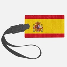 Spain flag Luggage Tag