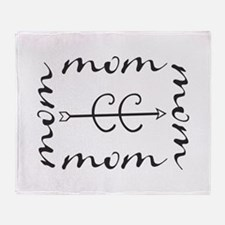 Cross Country MOM Throw Blanket