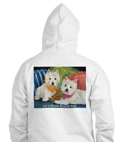 WESTIE LET A WESTIE RESCUE YOU! Hoodie