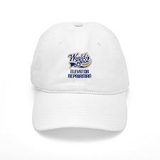Elevator Repairman (Worlds Best) Baseball Cap