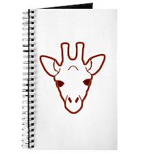 giraffe head 03 Journal