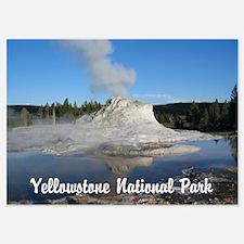 Customizable Yellowstone Geyser Photograph Invitations