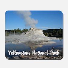 Customizable Yellowstone Geyser Photograph Mousepa