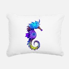 Sigmund Seahorse Rectangular Canvas Pillow