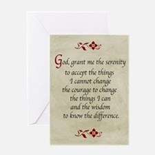 Serenity Prayer-Vintage Greeting Cards