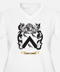 Trevino Family Crest (Coat of Arms) Plus Size T-Sh