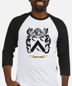 Trevino Family Crest (Coat of Arms) Baseball Jerse