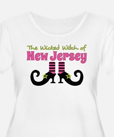 Wicked Witch of New Jersey Plus Size T-Shirt