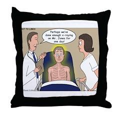 Dentist X-Ray Throw Pillow