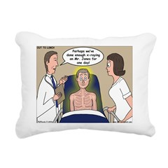 Dentist X-Ray Rectangular Canvas Pillow