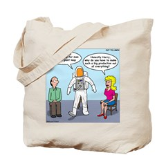 Astronaut 12-Step Show-off Tote Bag