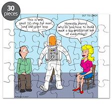 Astronaut 12-Step Show-off Puzzle