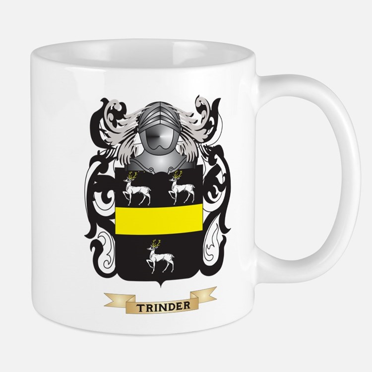 Trinder Family Crest (Coat of Arms) Mugs