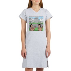 Cavemen at Stonehenge Women's Nightshirt