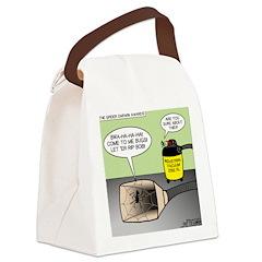 Spider Darwin Award Winner Canvas Lunch Bag