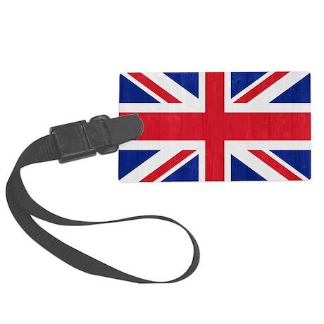 United Kingdom flag Large Luggage Tag