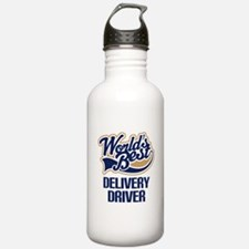 Delivery Driver (Worlds Best) Water Bottle