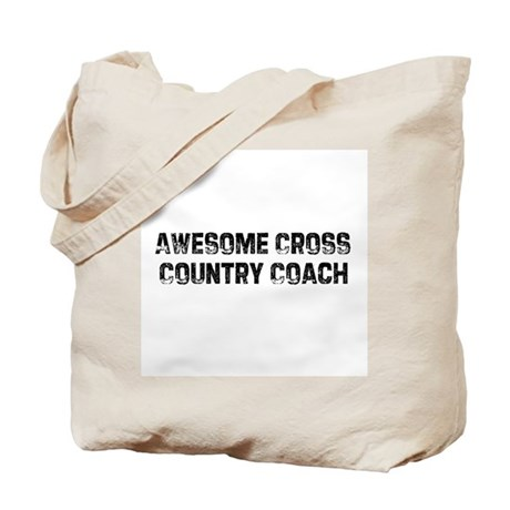 Awesome Cross Country Coach Tote Bag