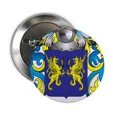 """Troy Family Crest (Coat of Arms) 2.25"""" Button"""