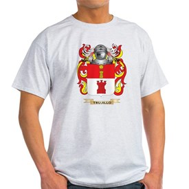Trujillo Family Crest (Coat of Arms) T-Shirt