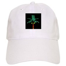 Palm tree light and night shinning in dark - Copy