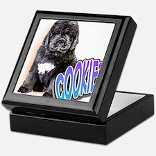 newfy puppy 1 Keepsake Box