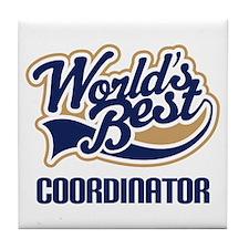 Coordinator (Worlds Best) Tile Coaster