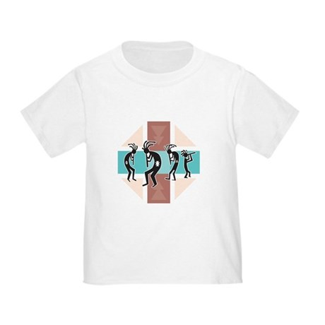 Kokopelli Design Toddler T-Shirt