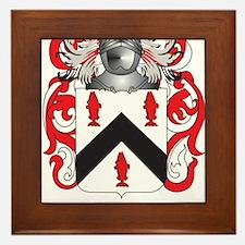Tubbs Family Crest (Coat of Arms) Framed Tile
