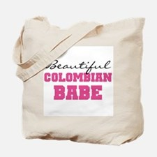 Colombian Babe Tote Bag