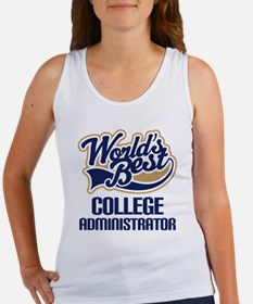 College Administrator (Worlds Best) Women's Tank T