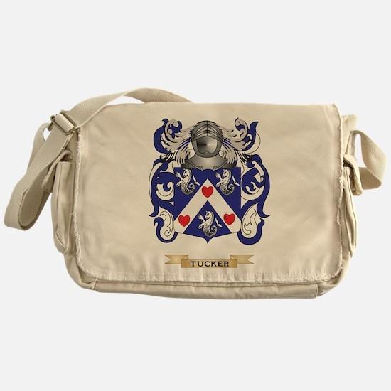 Tucker Family Crest (Coat of Arms) Messenger Bag